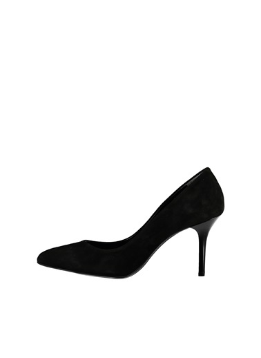 Deri Stiletto Ayakkabı-Elle